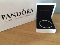 Pandora bracelet and '16' charm