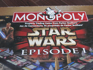 Monopoly - Star Wars Episode 1 Edition- Collector edition