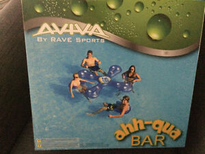 Aviva Sports:  Ahh-qua Inflatable Cooler Float with 4 Sun Seats