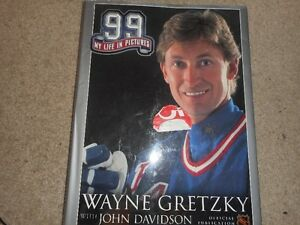 Wayne Gretzky books and magazines