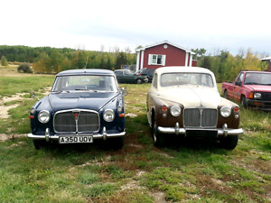 1959 Rover 90 and 1966 Rover 3 litre