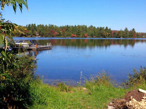 Wanted: Up to $375K-$650K waterfront lot or cottage,Muskoka area