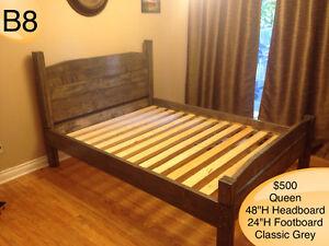 RUSTIC HANDMADE CUSTOM BEDS - TWIN/FULL/QUEEN/KING Kingston Kingston Area image 9