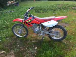 Honda XR 100 Dirt Bike