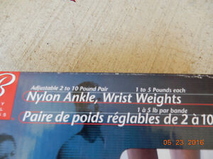 Reduced in price - Nylon Ankle/Wrist Weights