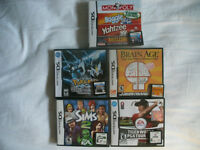 DS Games Pokemon and others
