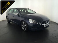 2013 VOLVO V60 R-DESIGN D5 DIESEL ESTATE 1 OWNER SERVICE HISTORY FINANCE PX