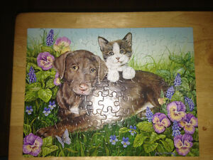 Puppy and Kitten puzzle
