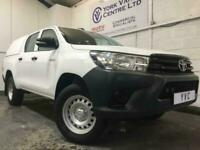 2017 67 TOYOTA HI-LUX 67 2.4 ACTIVE 4WD D-4D DCB 150 BHP WITH CANOPY DIESEL