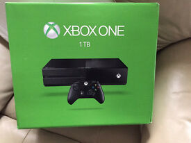 BRAND NEW XBOX ONE 1TB NEW AND SEALED