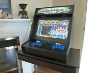 Arcade Cabinet Bartop with over 3600 games & 90 day warranty.