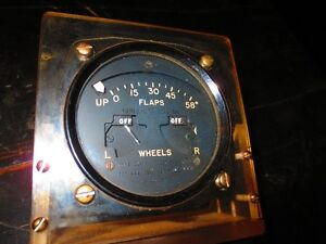 General Electric avaition flap indicator