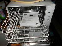 Danby Portable Counter top Dishwasher In Mint Condition