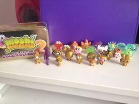 Moshi Monsters x23 with tin