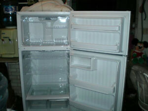GE fridge 2 years old 15.5 cub foot Kawartha Lakes Peterborough Area image 1