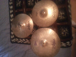 Zildjian Crash and hi-hats