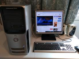 Dell Dual Core Intel Pentium Windows 10 PC 4GB Ram Office Wifi Speaker