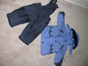winter jacket and snow pants size 12 mo