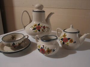 Imported tea cup set