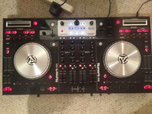 Numark NS6 dj controller, with travel case and laptop stand. DJ