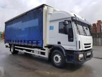 2012 IVECO EUROCARGO ML180E25 HIGH ROOF SLEEPER CAB 1OWNER LONG MOT TEST 05/2019