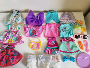 Baby Alive Lot &  Baby Doll + Accessories