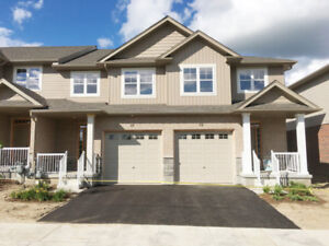 End Unit Brand New Townhouse --1600 sq ft--For Lease