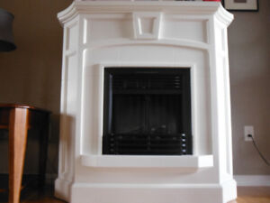 Hearth Manor Electric Fireplace w remote