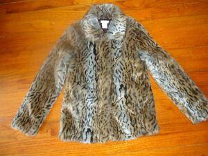Girls Fur Coat & Hat - New condition St. John's Newfoundland image 1