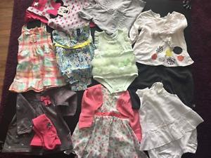 Lot de vêtements pour bébé fille *_*