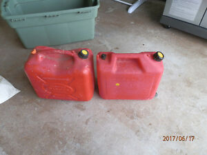 2 gas cans for $25.00
