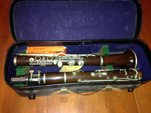 Hawkes and Son Vintage Clarinet