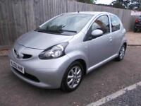 Toyota AYGO 1.0 ( 67bhp ) MMT Automatic Platinum - Full History, Air Con