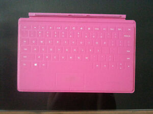 Hot Pink Microsoft Surface Touch Cover Keyboard