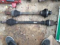 Renault Clio 172 cup drive shafts cv joint f4r gearbox