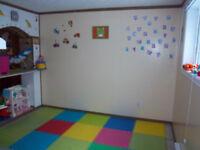 Places disponibles dans une garderie familial à Anjou
