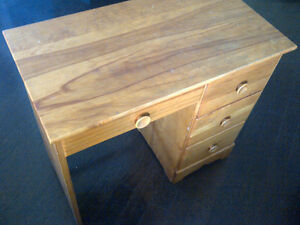 Solid Wood Desk Small