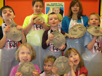 Pottery Camp  FREE LUNCH THIS WEEK ONLY