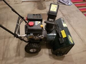 """24"""" 2 stage self propelled electric start snowblower for sale"""