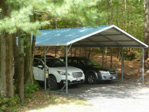 Steel Carports, Garages, Pole Barns