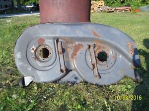 lawn tractor mower decks, transmissions, rims/tires, engines