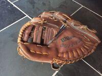 Wilson soft flex leather baseball glove