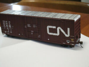 HO scale CN Canadian National Boxcar for electric model trains