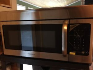 OVER THE RANGE MICROWAVE, BRAND NEW NEVER USED
