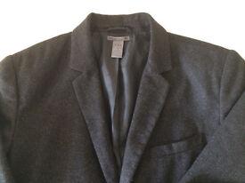 GAP men's Grey Jacket/Blazer (size M)