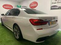 2018 68 BMW 7 SERIES 3.0 740LD XDRIVE M SPORT 4D 315 BHP DIESEL
