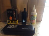 Vape cuboid mini 80w and cuboid tank and crown tank