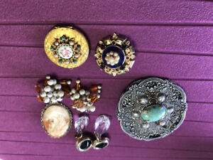 Vintage jewelry unsigned