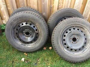 4 tires 245/60R 18 Tires on ford rims
