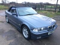 BMW e36 318is Convertible Cabriolet Soft Top Project TLC Parts Spares or Repair